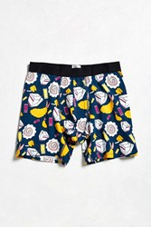 Urban Outfitters Takeout Boxer Brief Navy
