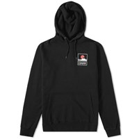 Edwin Sunset On Mt.Fuji Popover Hoody Black