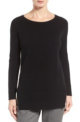 Nordstrom Women's Collection Side Slit Cashmere Sweater