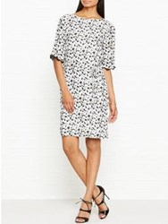 Reiss Noemi Printed Dress Multicolour