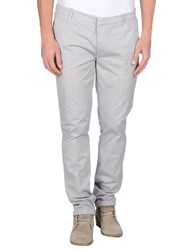 Manuel Ritz White Trousers Casual Trousers Men Light Grey