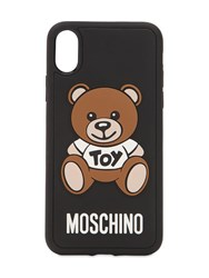 Moschino Teddy Printed Iphone X Cover Black