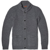 Barena Ceston High Neck Cardigan Grey