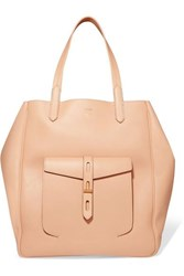 Tom Ford Hollywood Large Leather Tote Beige