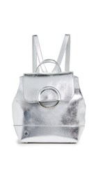 Sam Edelman Dorren Backpack Metallic Silver