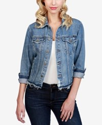 Lucky Brand Cotton Denim Trucker Jacket Panorama Village