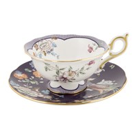 Wedgwood Wonderlust Teacup And Saucer Midnight Garden