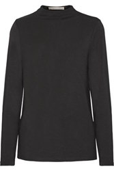 Tart Collections Georgie Stretch Modal Jersey Top Black
