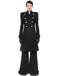 Gareth Pugh Double Breasted Wool Coat
