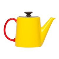 Jansen And Co My Teapot Yellow Anthracite Red