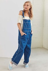 Bdg Oversized Contrast Stitch Overall Indigo