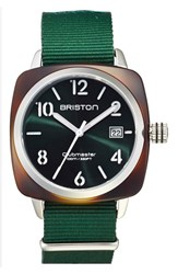 Briston Watches Men's Briston Nato Strap Watch 40Mm X 40Mm Green Green