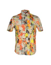 Basso And Brooke Shirts Shirts Men Beige