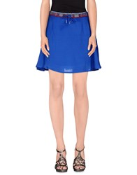 Eleven Paris Skirts Mini Skirts Women Blue