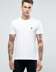 Lyle And Scott T Shirt Eagle Logo In White White