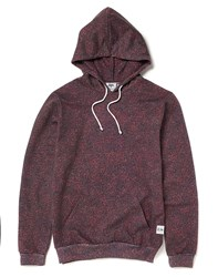 Hype X The Idle Man Sunrise Speckle Hoodie Red