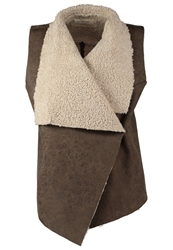 Urbancode Waistcoat Dolly And Grass Brown