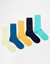 Bjorn Borg 5 Pack Socks Multi