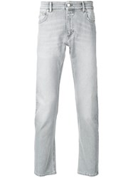 Closed Distressed Regular Fit Jeans Grey