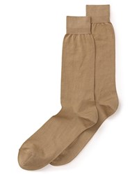 Bloomingdale's The Men's Store At Bloomingdales Cotton Blend Dress Socks 100 Exclusive Taupe