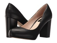 Lfl By Lust For Life Paige Black Nappa Pu High Heels