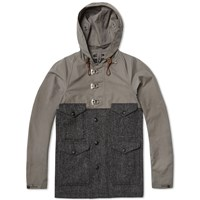 Nigel Cabourn Classic Cameraman Jacket Raf Grey And Charcoal