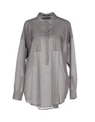 Drykorn Shirts Blouses Women Grey