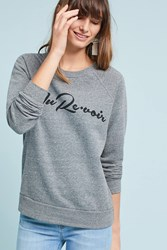 Sol Angeles Chic Graphic Sweatshirt Dark Grey