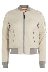 Schott Nyc Flight Jacket Beige