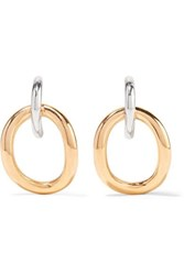Charlotte Chesnais Inner Naho Gold Vermeil And Silver Earrings One Size