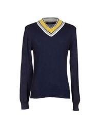 Junk De Luxe Knitwear Jumpers Men Blue