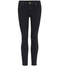 J Brand Ankle Mid Rise Jeans Blue