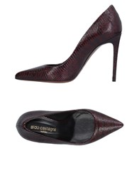 Aldo Castagna Pumps Deep Purple