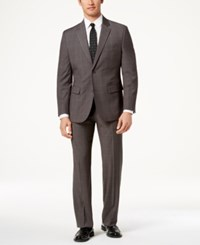 Nautica Modern Fit Active Stretch Suit Med Grey