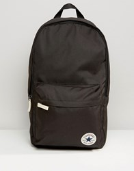 Converse Core Patch Backpack In Black Black