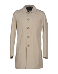 Suit Coats And Jackets Full Length Jackets Men Beige