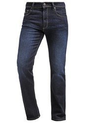 Bugatti Nevada Straight Leg Jeans Darkblue Dark Blue Denim