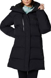 Helly Hansen Adore Insulated Water Repellent Puffy Parka Black