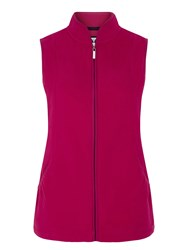Dash Micro Fleece Gilet Pink