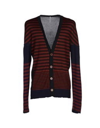 Aimo Richly Cardigans Rust