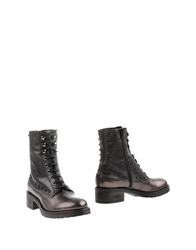 Jeannot Ankle Boots Steel Grey