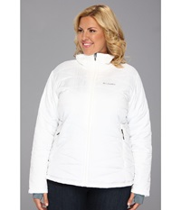 Columbia Plus Size Mighty Lite Iii Jacket White Women's Coat
