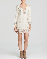 Moon And Meadow Embroidered Tunic Dress