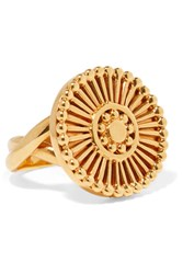 Chloe Gold Tone Ring 52