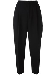 Enfold High Waisted Trousers Black