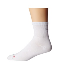 Drymax Sport Cycling 1 4 Crew 3 Pair Pack White Quarter Length Socks Shoes