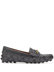 Coach Crosby Driver Loafers Blue