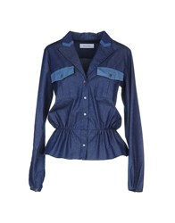 Mauro Grifoni Denim Denim Shirts Women Blue