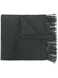 N.Peal Woven Shawl Cashmere Grey