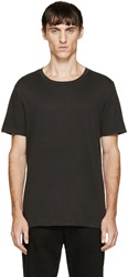 Blk Dnm Black Zipper T Shirt